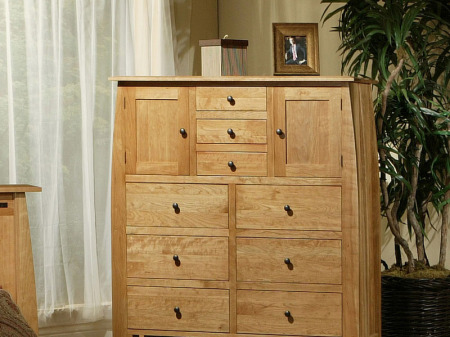 Trend Manor Bedroom #2506 9 Drawer Cherry Chest