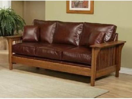 TM Leather Sofa