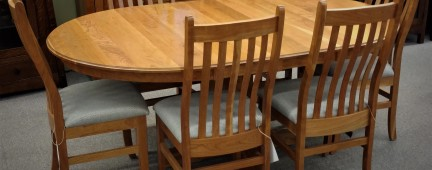 Cherry Wood Dining Set - $3,099-