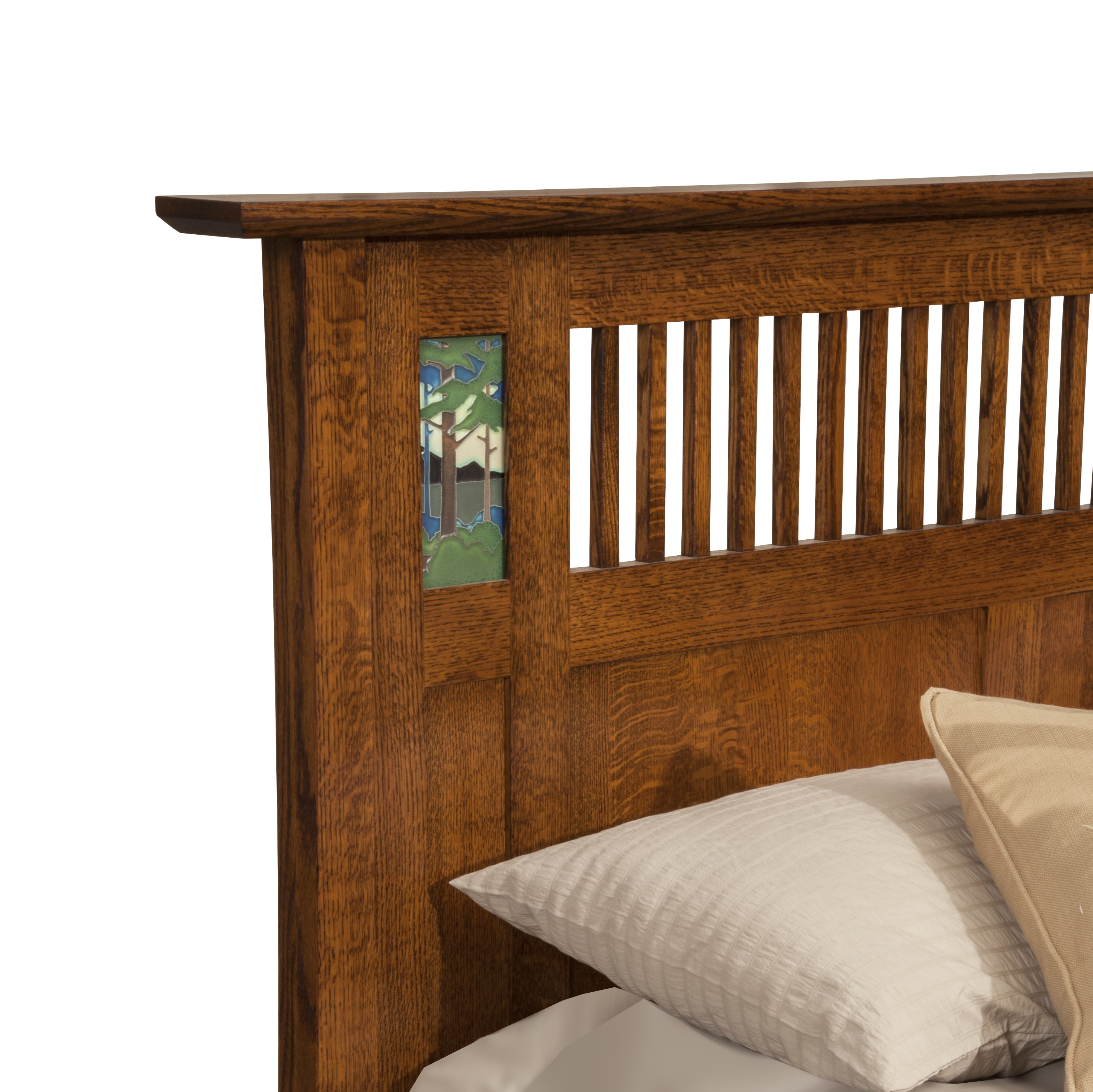 Trend Manor 1700 Arts Crafts Bungalow Bed Sugarhouse Furniture