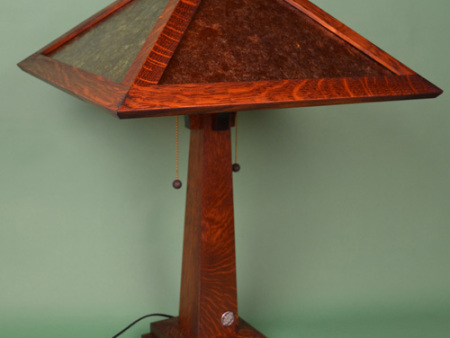 Holland-Mission-Oak-Mica-Reading-Lamp-2