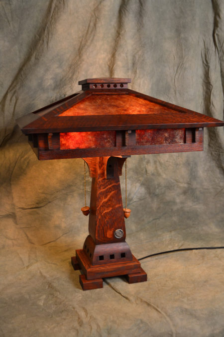 Sugar House Furniture Salt Lake City UT Prairie Craftsman Table Lamp