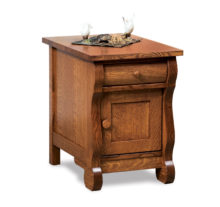 Old Classic Sleigh Occasionals FVET-OCS-EN enclosed end table