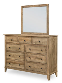 Madison Collection Dresser | T-0333 and Mirror | T-04