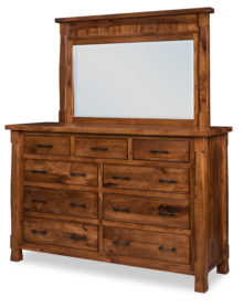 Ouray Collection Dresser | L-033 and Mirror | L-04